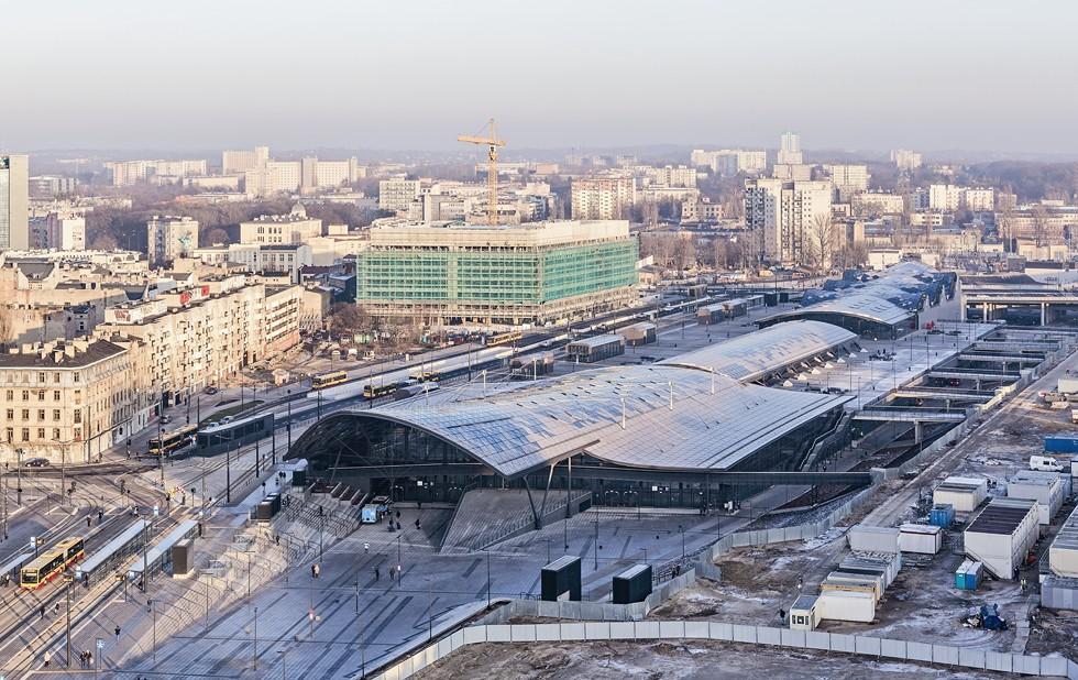 Nowe Centrum Łodzi z najnowszymi realizacjami