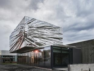 Stal na elewacji. Rozbudowa Muzeum Sztuki w Lillehammer
