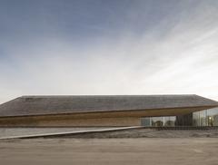 Rzeźba w krajobrazie - Centrum Morza Wattowego w Danii